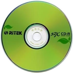 ◆下殺10組◆免運費◆錸德 Ritek 環保綠葉 CD-R 700MB/52X (200P裸裝)= 省錢包!!