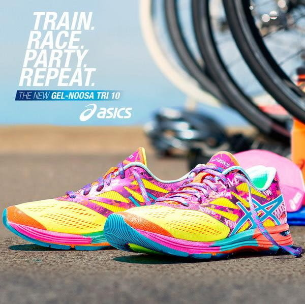 (特價) 女款 ASCIS GEL-NOOSA TRI 10慢跑 三鐵 自行車 運動鞋 T580N-0739 【陽光樂活】