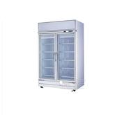 現貨 960L雙門立式商用冷藏便利店超市展示櫃 飲料櫃 冷藏櫃 RS-S2003S 時尚彩紅屋