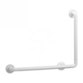 ABS抗菌防滑L型扶手-白色