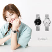 Valentino范倫鐵諾 獨特波紋面板手錶腕錶 藍寶石鏡片 柒彩年代【NE1130】原廠公司貨