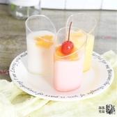 布丁杯 80ML斜口杯一次性硬塑膠布丁杯提拉米蘇杯慕斯杯甜品杯斜口杯50只