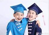 幼兒園畢業合唱禮服學士服兒童博士服小學畢業袍小學生拍照小博士 怦然心動