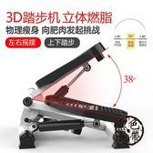 踏步機3D超靜音家用免安裝多功能腳踏機健身器材zone【黑色地帶】