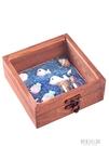 寶寶胎毛紀念品新生兒胎發收藏盒乳牙臍帶永久保存瓶 diy自制制作 夢幻小鎮