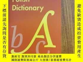 二手書博民逛書店Collins罕見easy learning Polish Dictionary 柯林斯輕松學波蘭語詞典Y4