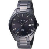 ALBA雅柏漫步都會時尚腕錶 AS9F81X1 VJ42-X250SD 黑x銀