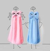 兒童手帕 擦手巾掛式非純棉加厚吸水可愛韓國兒童方毛巾搽手帕卡通家用【快速出貨八折下殺】