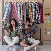 【現貨】冬裝上市 MIUSTAR 多色款!舒適法蘭絨格子襯衫(共13色)【NG001552】預購