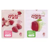 【韓國米餅村】無添加水果脆片-共2款(蘋果/草莓) 零食 嬰兒 兒童 幼童 可食 健康 無調味
