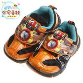 布布童鞋 TOBOT機器戰士橘色兒童透氣運動鞋(17~22公分) [ BCS208E ] 橘色款
