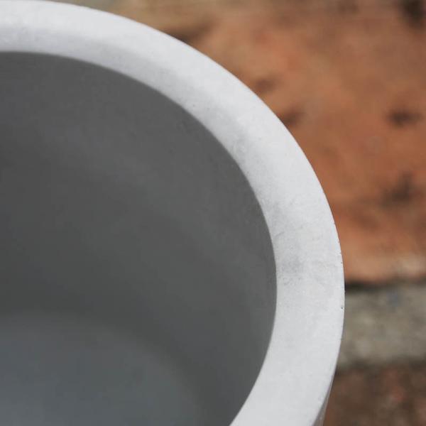 (BEAGLE) 圓型創意水泥盆栽(中) 多肉水泥花器/仙人掌水泥花盆/水泥植栽/水泥盆器-10*10公分