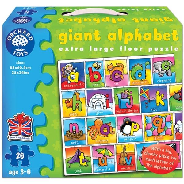 【英國 Orchard Toys】遊戲拼圖-字母拼拼看 OT-282