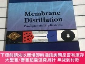 二手書博民逛書店膜蒸餾:原理與應用Membrane罕見Distillation: Principles and Applicati