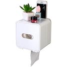 廁所紙巾盒免打孔衛生紙置物架防水捲紙筒架衛生間廁紙盒手紙巾架 檸檬衣舎