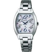 【台南 時代鐘錶 SEIKO】精工 LUKIA 太陽能電波腕錶 SSVW081J@1B22-0BC0S 銀 27mm 公司貨