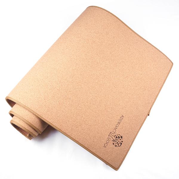《Approach Yoga》(免運)葡萄牙軟木瑜珈墊-台灣製造( 歐美環保指定)/環保軟木材質/栓皮櫟/Cork