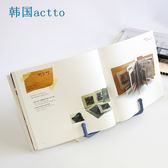 韓國actto便攜式讀書看書閱讀架學生夾書本LK1885『黑色妹妹』