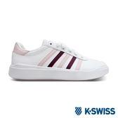 K-Swiss Heritage Light Stripes L SE休閒運動鞋-女-白/粉紅