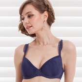 【PANS BRA】女爵系列C-E罩壓摺性感(爵士藍)