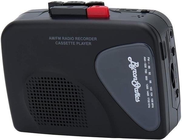 [2美國直購] 盒式磁帶錄音機 Byron Statics Portable Cassette Players Recorders FM AM