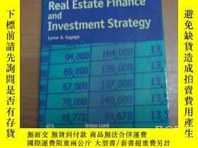 二手書博民逛書店Cases罕見in real estate finance an