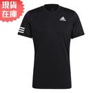 【現貨】Adidas CLUB TENNIS 男裝 短袖 T恤 慢跑 訓練 透氣孔洞 吸濕排汗 黑【運動世界】GL5403