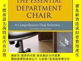 二手書博民逛書店The罕見Essential Department Chair: A Comprehensive Desk Ref