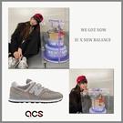 New Balance 慢跑鞋 NB 574 灰 白 男鞋 經典配色 元祖灰 麂皮 IU 國民妹妹 李知恩 休閒鞋 【ACS】 ML574EGGD