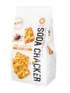 自然主意 亞麻仁籽胡椒岩鹽生機蘇打餅180g/盒 健康隨身包(全素) 排隊美食 (購潮8)