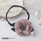 盤髪器 盤髮器丸子頭韓國懶人頭飾花朵水鉆花苞頭造型器百變蓬松扎頭髮飾