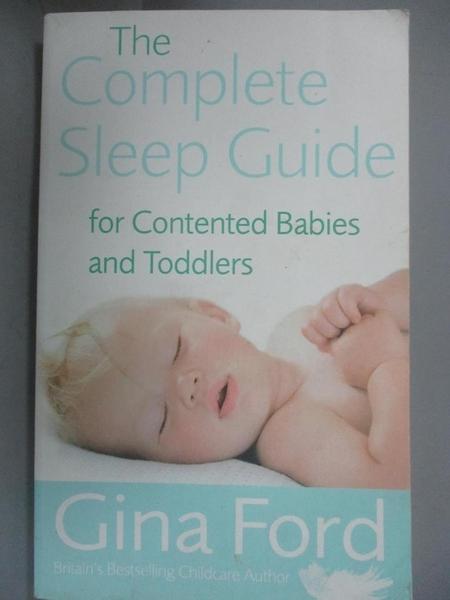 【書寶二手書T9/保健_JRU】The Complete Sleep Guide for Contented Babie