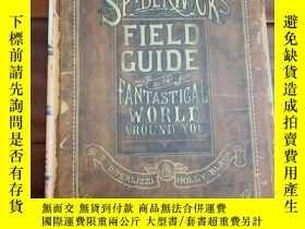 二手書博民逛書店Arthur罕見spiderwicks field guide fantastical world around