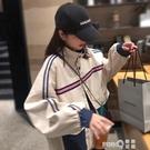 工裝短外套女春秋冬季棉服面包服學生韓版寬鬆2020新款 依凡卡時尚