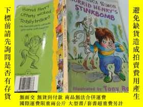 二手書博民逛書店Horrid罕見Henry s Stinkbomb:可怕的亨利的臭彈...Y200392