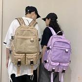 書包女韓版學生後背包旅行大容量雙肩包【橘社小鎮】
