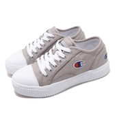 Champion 休閒鞋 Cookie 灰 白 女鞋 復古 餅乾鞋 基本款 運動鞋【PUMP306】 922220222