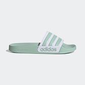 Adidas Adilette Shower [EG1885] 女鞋 運動 涼鞋 拖鞋 休閒 舒適 輕量 愛迪達 綠白