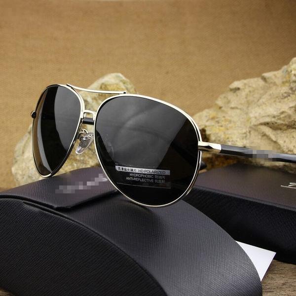 太陽鏡男士偏光墨鏡蛤蟆鏡司機鏡開車駕駛鏡可配近視帶有度數眼鏡