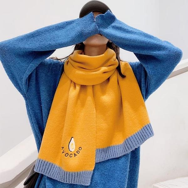 圍巾披肩-女冬季韓版百搭長款加厚保暖學生情侶圍脖軟妹披肩交換禮物【低至82折】