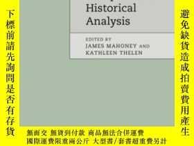 二手書博民逛書店Advances罕見In Comparative-historical AnalysisY307751 Jam