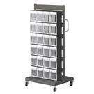 [ 家事達 ] 樹德MS-14000單面 掀開式零物件快取車- 24格抽屜   特價  收納箱/整理箱
