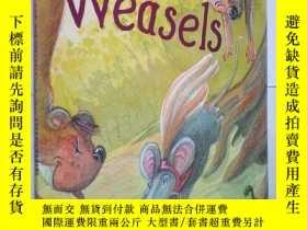 二手書博民逛書店The罕見Mice and the Weasels ( Aeso