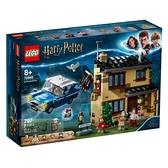 【南紡購物中心】【LEGO樂高積木】哈利波特系列 - 4 水蠟樹街 75968