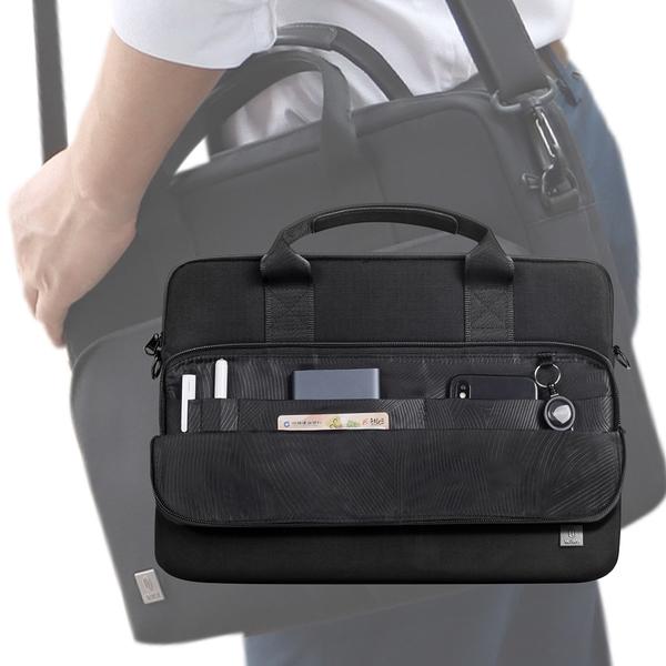 WiWU ALPHA 簡約達人筆電手提包 公文包 公事包 -16吋(年輕就是這一咖)