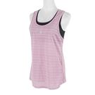 Mizuno Tank Top [K2TA120466] 女 瑜珈 背心 兩件式 運動 健身 訓練 吸汗 快乾 玫瑰紫