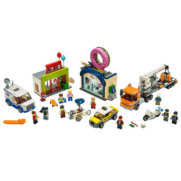 LEGO 樂高 City 城市系列 60233 甜甜圈店新開幕 【鯊玩具Toy Shark】