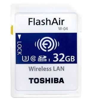 第4代 東芝 TOSHIBA FlashAir SDHC-32GB W04 W-04 Wi-Fi 無線傳輸記憶卡 32G Eye-fi 【富基公司貨保固5年】