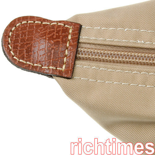 LONGCHAMP水餃小肩背包(卡其)LC089501