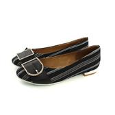 HUMAN PEACE 休閒鞋 低跟鞋 黑色 條紋 女鞋 1757-01-09 no407